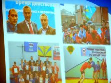 Слайд - программа, с демонстрацией проделанной работы, сопровождала все выступления докладчиков.